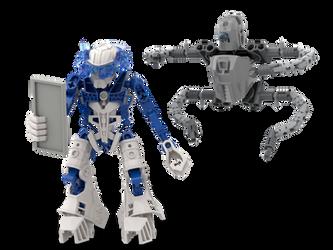 Dark709 ZERO: Bionicle Revolution - Zib and Quadal