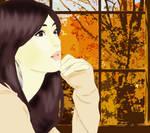 Kitagawa Keiko by the Window