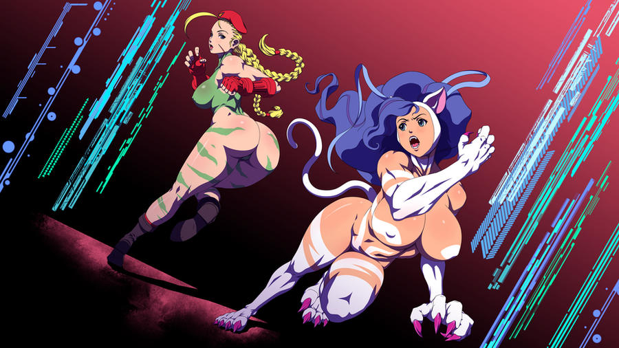 Cammy VS Felicia by RiskyGraphics