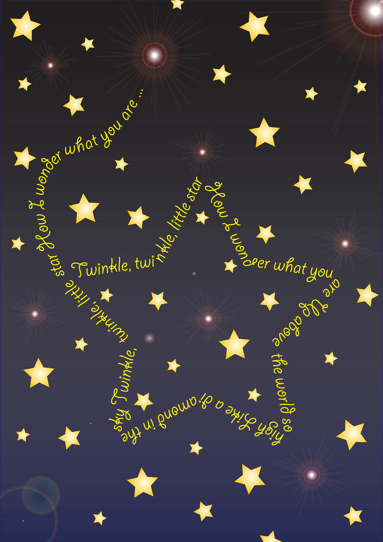 Twinkle Twinkle Little Star Baby Room