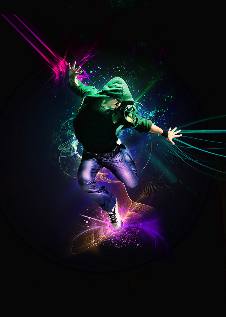 The color of dance