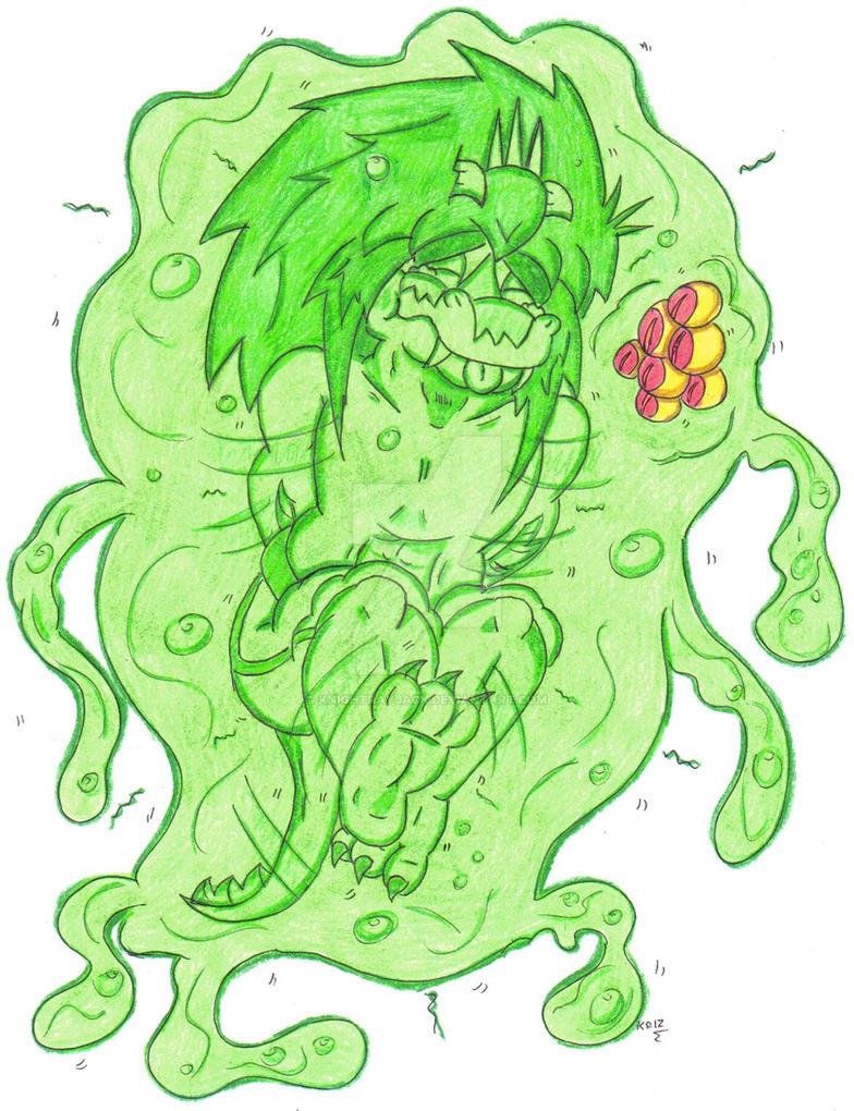 Slime vore softcore comic