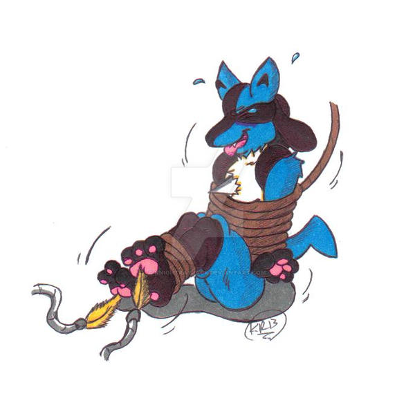 Quick Pic: Lucario Tickled By KnightRayjack On DeviantArt
