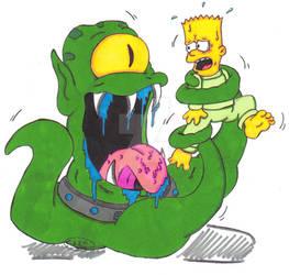 Bart Simpson: Space Alien Vore