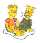 Bart Tickle Nightmare: Hugo Simpson