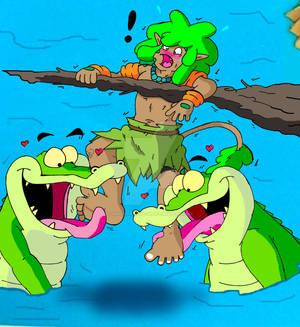 Eldan: Gator Trouble!