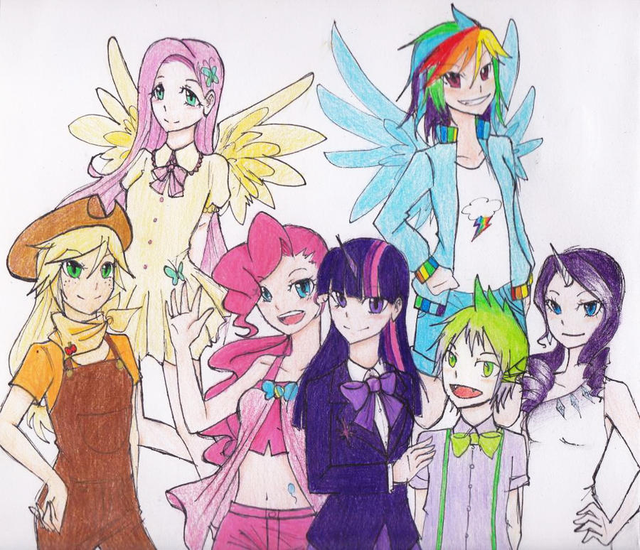 My little pony characters - photo#13