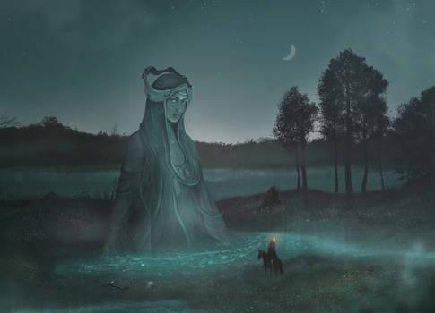 Mistress of the moon marsh