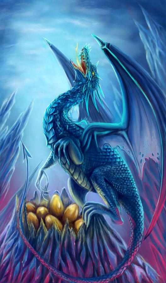 dragon by AksaArt