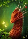 Dragon. Commission for Montaraz 13