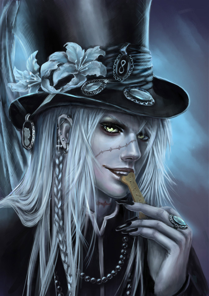 Black Butler.Undertaker by AksaArt