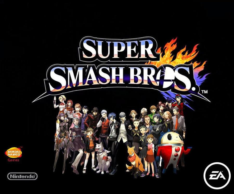Super Smash Bros Newcomers Persona Series Ultimate Fighting