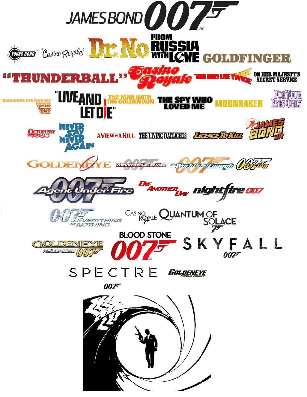 james bond 007 logo chronicles by pp7jones on deviantart