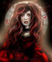 ..Crimson Lady.. by PurpleScissors