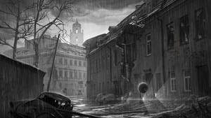 Post apocalyptic Vilnius by martydesign
