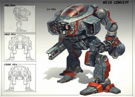 Mech design by martydesign