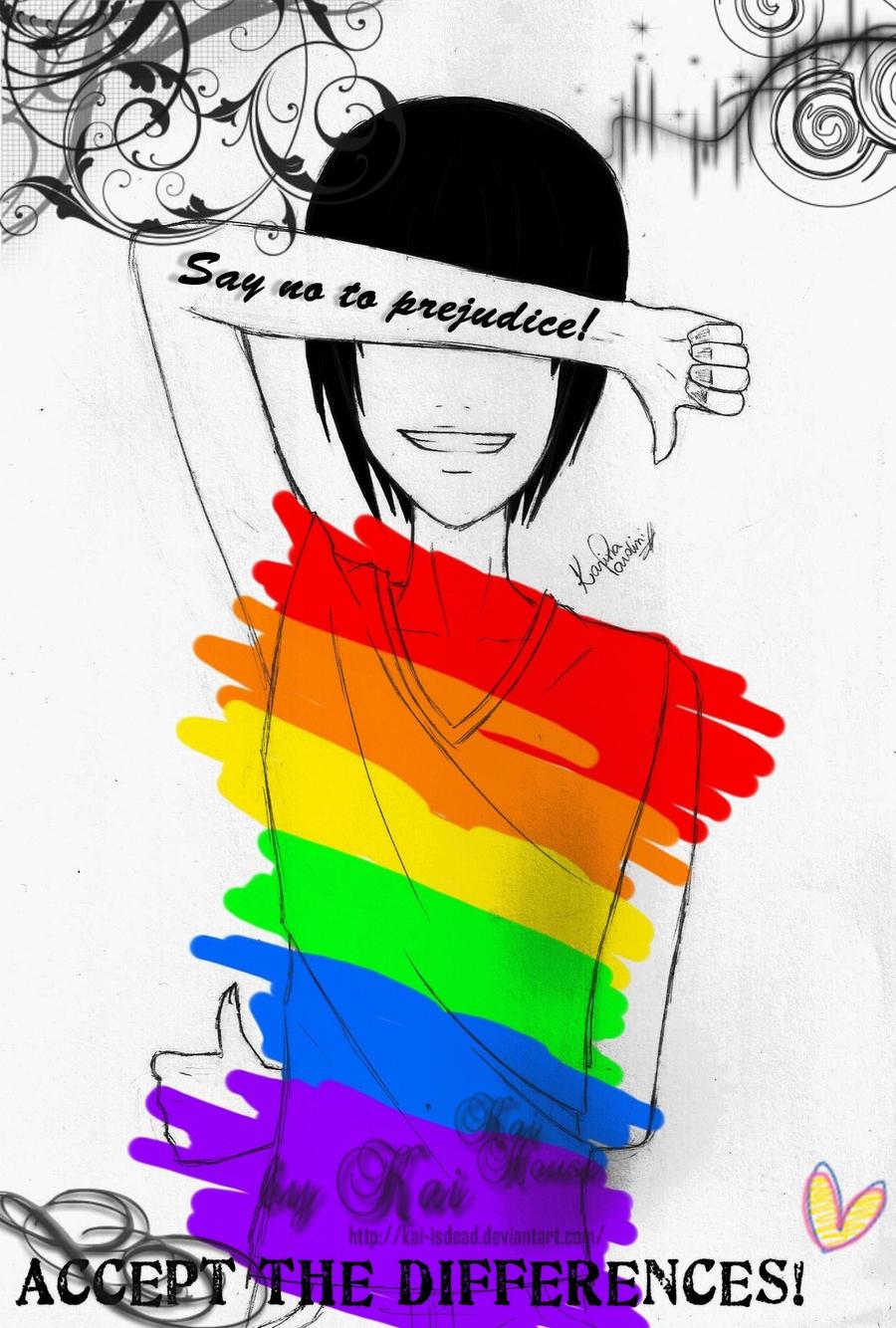 SAY NO TO PREJUDICE