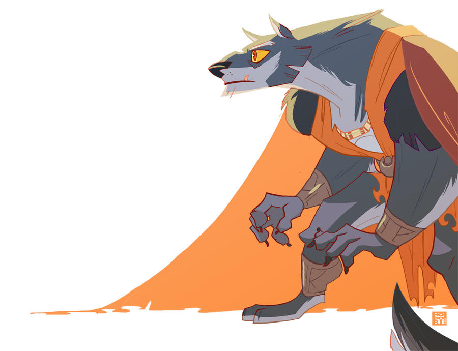 dreadwolf by Hodori