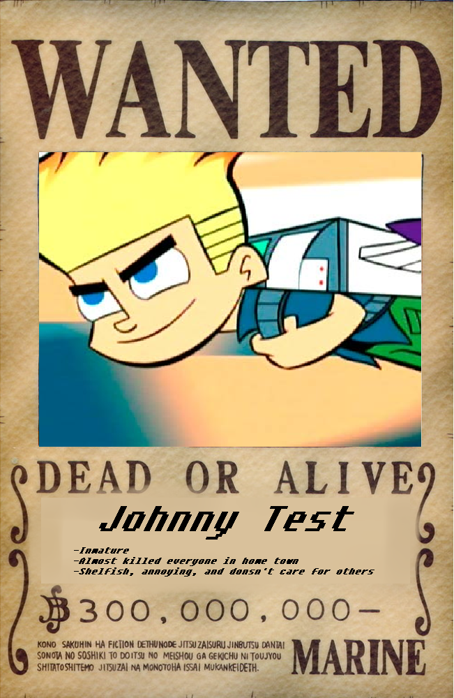 wanted__johnny_test_by_totaldramaprison d68ohmu wanted johnny test by totaldramaprison on deviantart