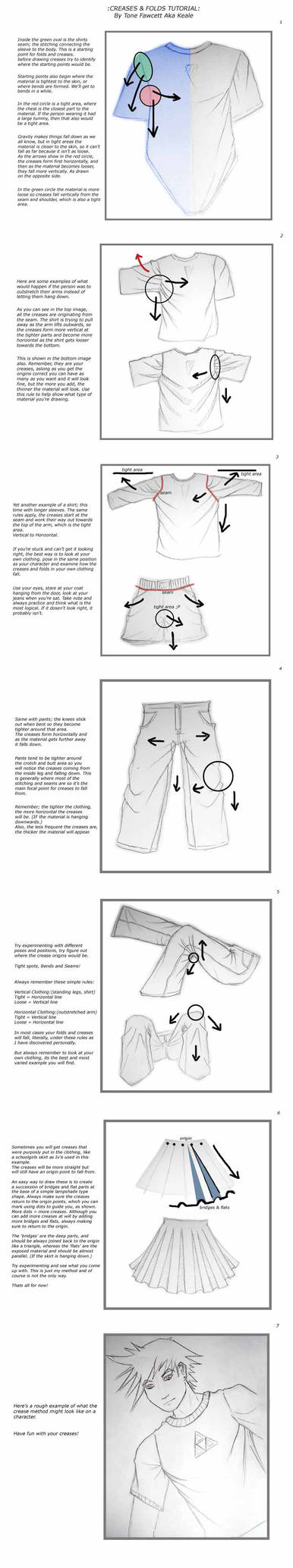 Tutorial : Creases and Folds