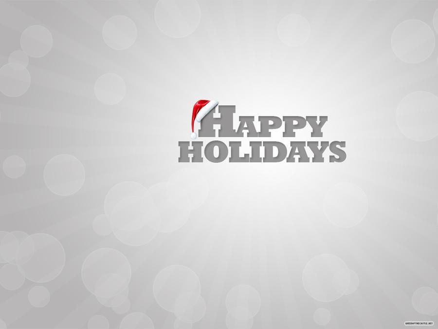 Holiday Letterpress Wallpaper