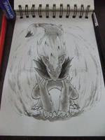 [Inktober] #5 - Night Daze (Pokemon) by UltimateCharizard006
