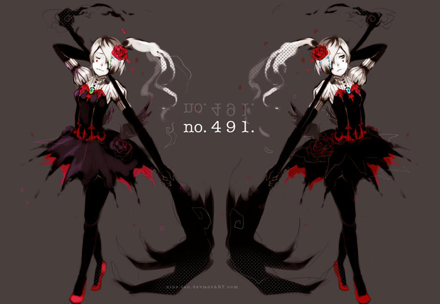 Darkrai | Pokemon Gijinka | Pinterest