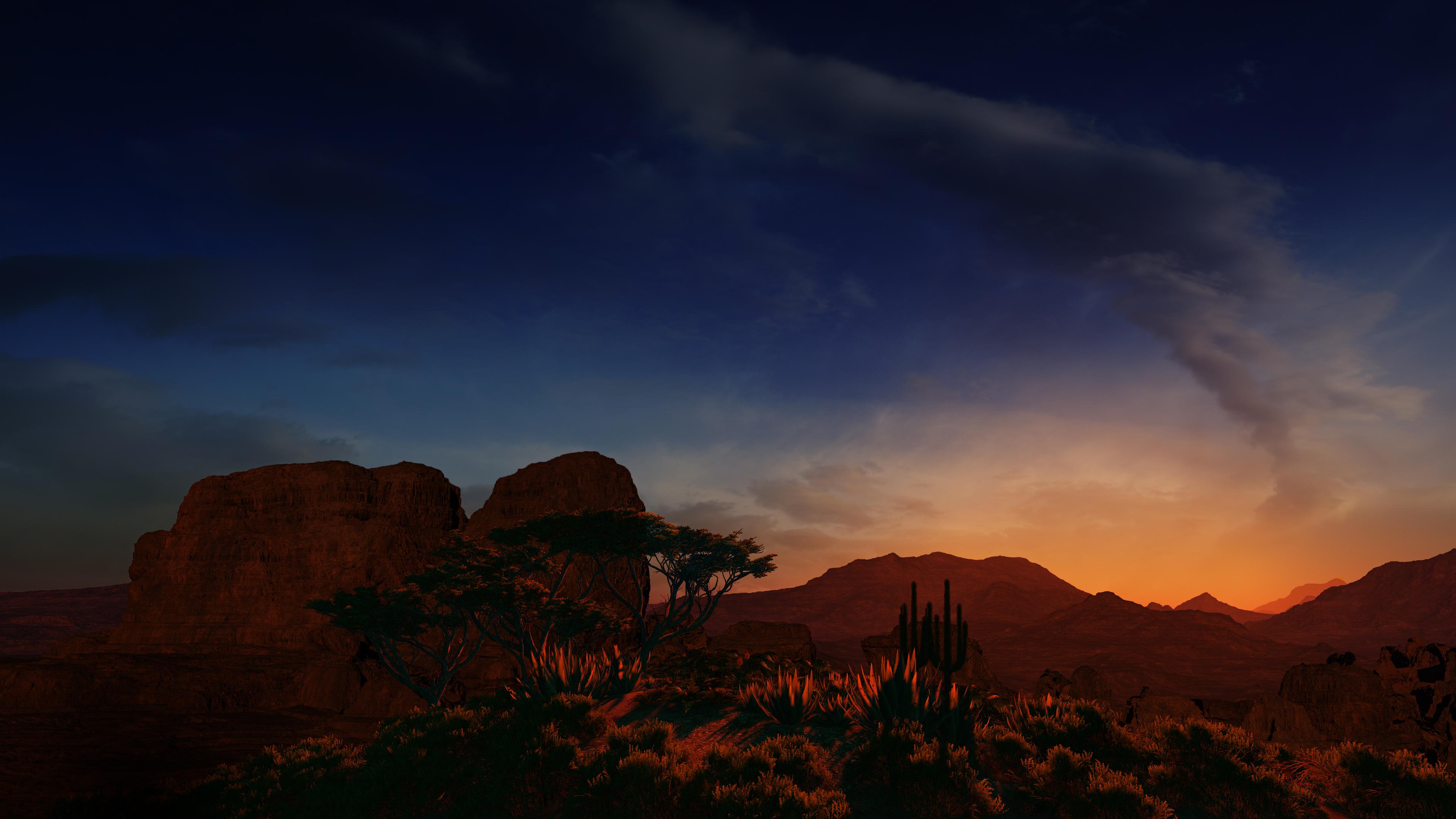 Arizona Sunset 4K
