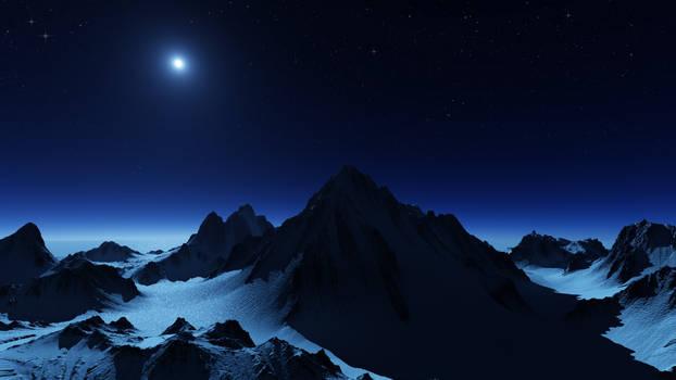 Antarktis Ice Night II