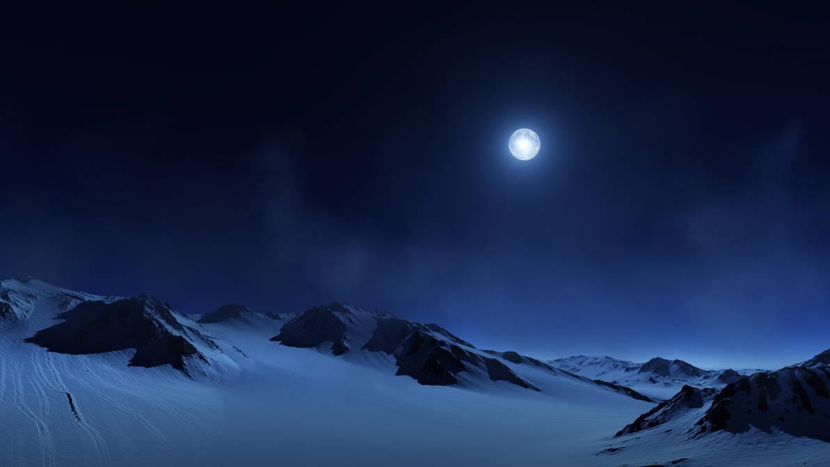 Antarktis Downhill V