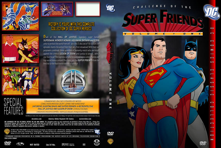 Watch Challenge of the SuperFriends Season 1 Online