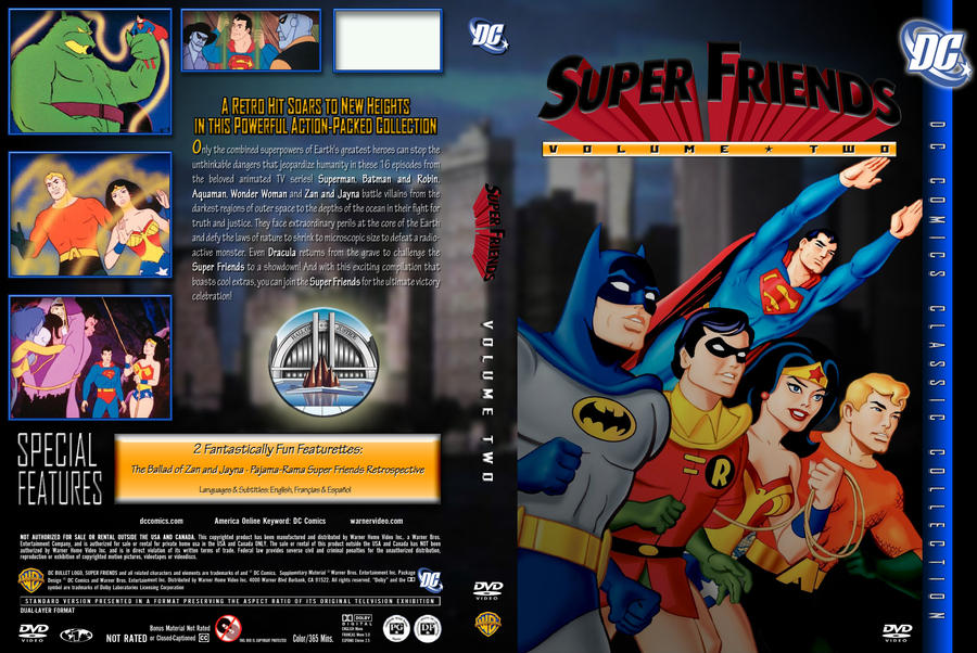 SUPER FRIENDS VOLUME 2 by SUPERMAN3D