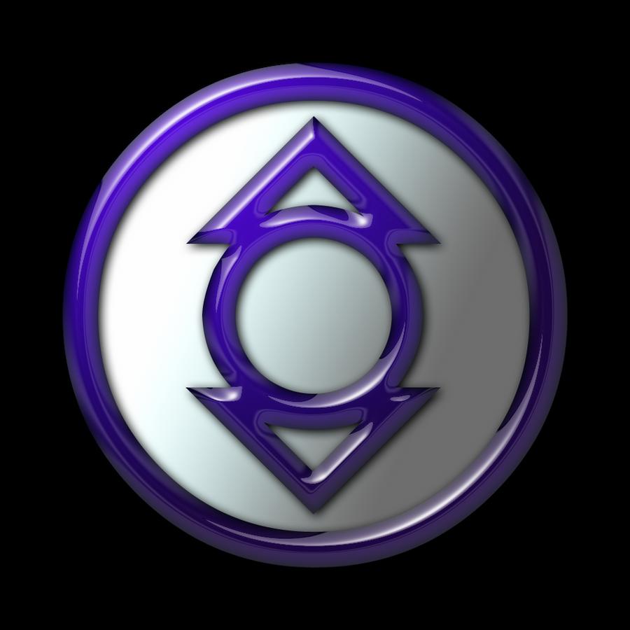 Violet lantern symbol