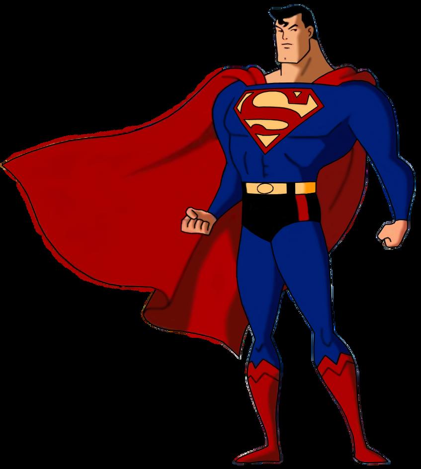 animated superman clipart - photo #2