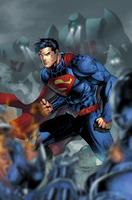 Superman vs Robots Version 2 by SUPERMAN3D