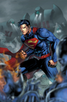 Superman vs Robots Version 2