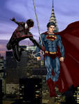 Ultimate Spider-man and Earth One Superman -Final-