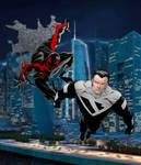 Spider-Man 2099 and Superman Beyond