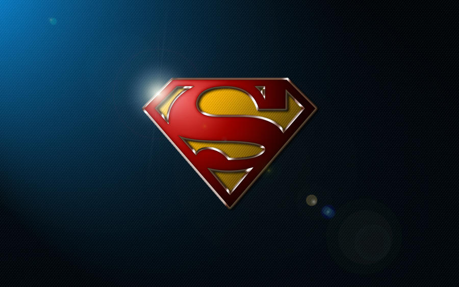 Superman S-Shield Wallpaper by SUPERMAN3D ...