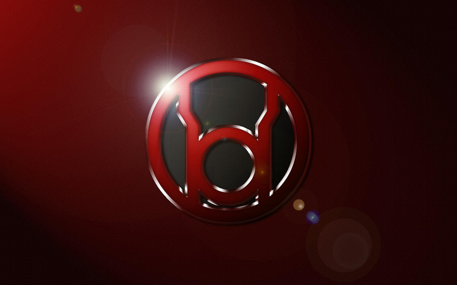 Red lantern corps symbol wallpaper - photo#5