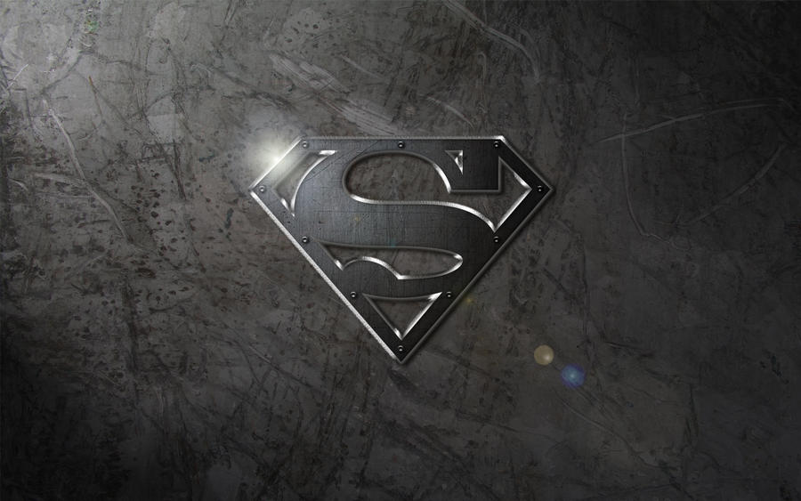 Steel Logo Wallpaper By SUPERMAN3D