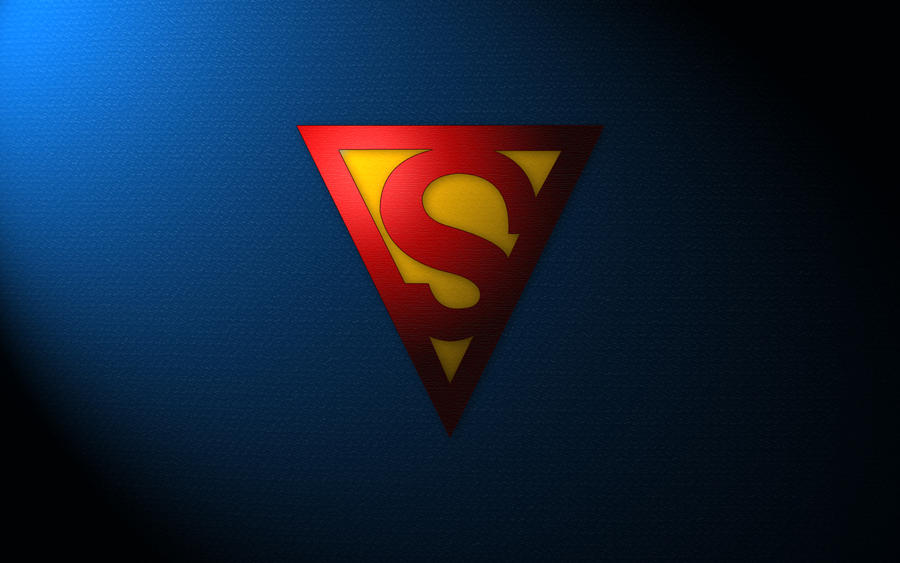 Golden Age Superman Logo Wallpaper by SUPERMAN3D ...