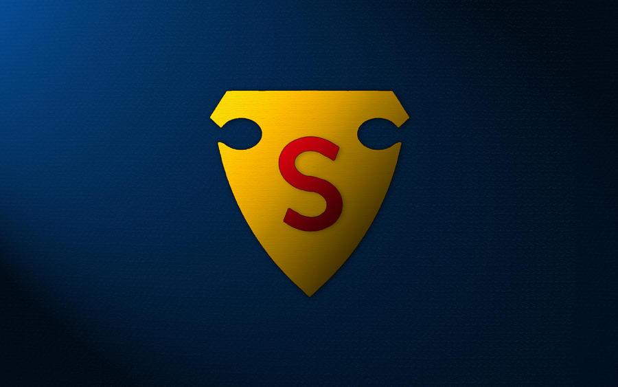 S Logo 3d Wallpaper First Superman S-Shield Logo