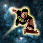 Superboy as a member of the Sinestro Corps