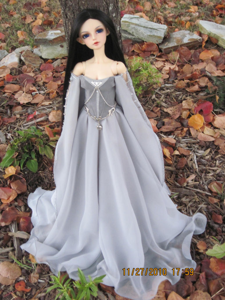 Ghostly quot elven gown by azurielle1 on deviantart