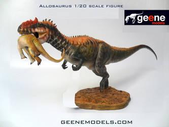 Allosaurus 1:20 scale. by GalileoN