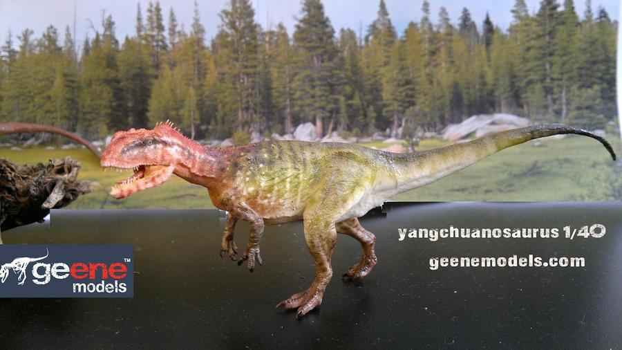 Yangchuanosaurus by GalileoN