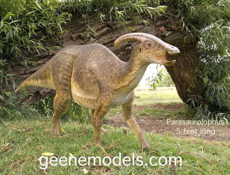 Parasaurolophus by GalileoN