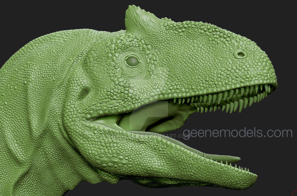 Allosaurus 3D Sculpture By Galileo Hernandez Nunez by GalileoN