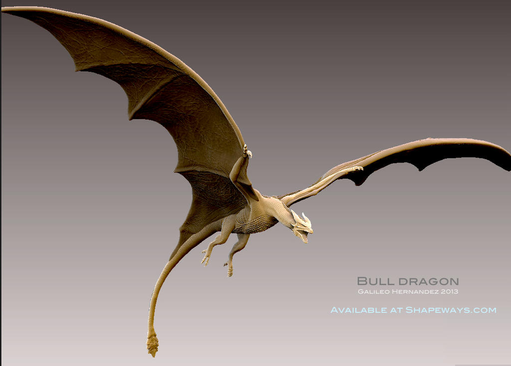 Bull Dragon. by GalileoN